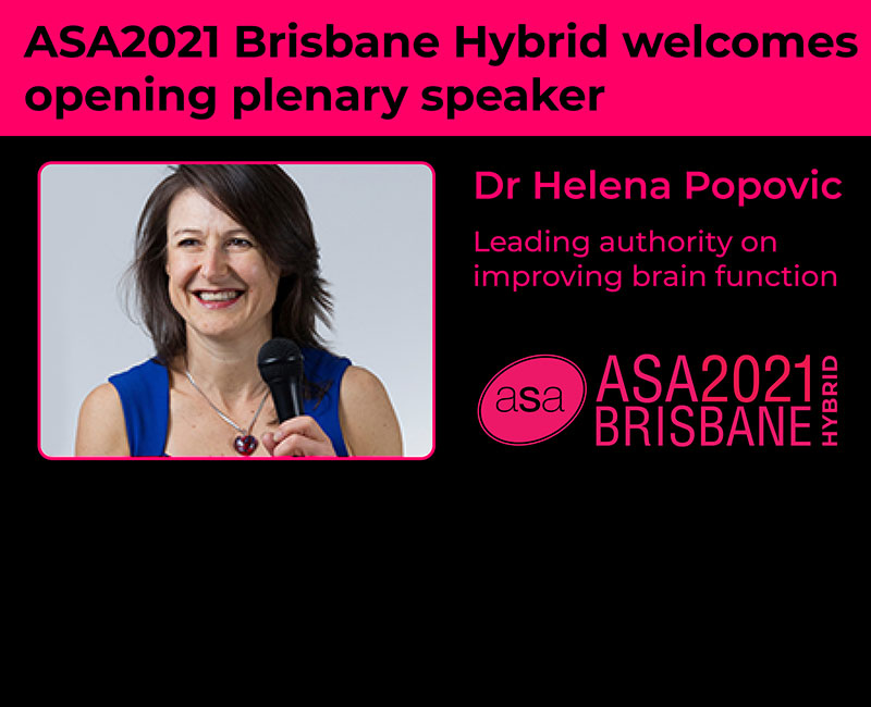 Helena will speak on: Boost your Brain to get ahead!